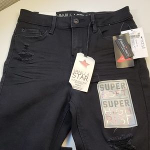 Vanilla Star Jeans - 3/$50 - *NEW* Black Super High-rise Jeggings